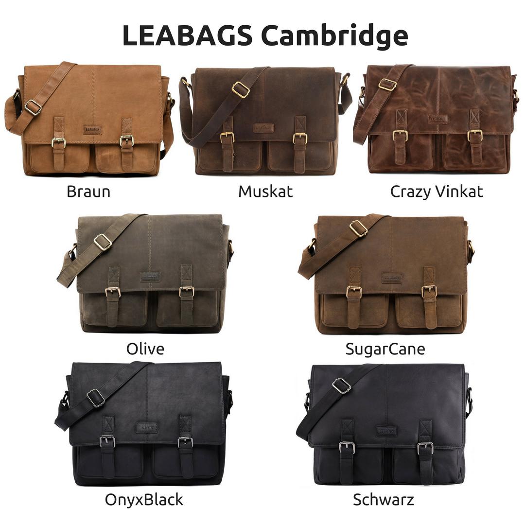 Cambridge Umhängetasche von Leabags