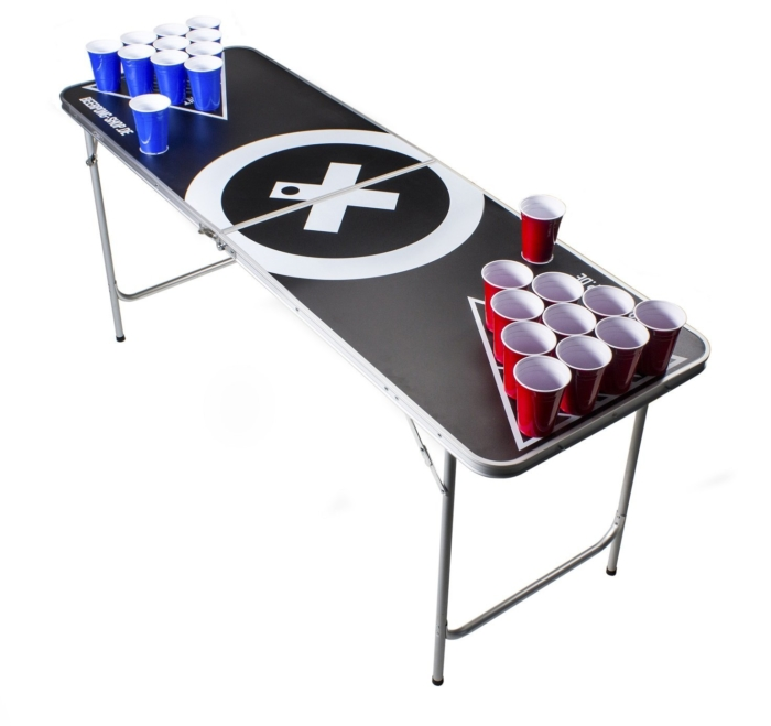 Beer Pong Tisch Set - Studentenparty